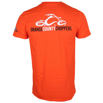 tričko pánske ORANGE COUNTY CHOPPERS - Logo - Orange, ORANGE COUNTY CHOPPERS