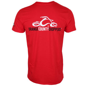 tričko pánske ORANGE COUNTY CHOPPERS - Logo - Red, ORANGE COUNTY CHOPPERS