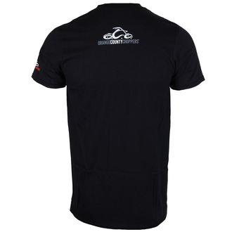 tričko pánske ORANGE COUNTY CHOPPERS - Custom Build Bars - Black, ORANGE COUNTY CHOPPERS