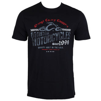 tričko pánske ORANGE COUNTY CHOPPERS - Custom Motorcycles - Black, ORANGE COUNTY CHOPPERS