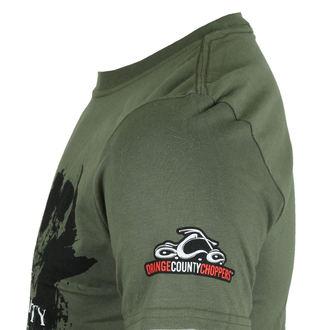 tričko pánske ORANGE COUNTY CHOPPERS - Dark Skull Bad Ass Bikes - Green, ORANGE COUNTY CHOPPERS