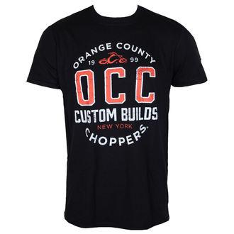 tričko pánske ORANGE COUNTY CHOPPERS - Rebel - Black, ORANGE COUNTY CHOPPERS