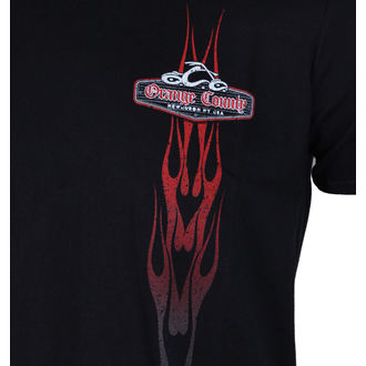 tričko pánske ORANGE COUNTY CHOPPERS - Vertikal Flame - Black, ORANGE COUNTY CHOPPERS