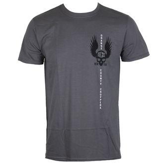 tričko pánske ORANGE COUNTY CHOPPERS - Winged Skull - Charcoal, ORANGE COUNTY CHOPPERS