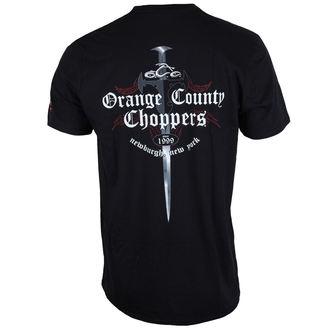 tričko pánske ORANGE COUNTY CHOPPERS - Shop Dagger - Black, ORANGE COUNTY CHOPPERS