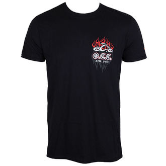 tričko pánske ORANGE COUNTY CHOPPERS - Pinstripe Flame - Black