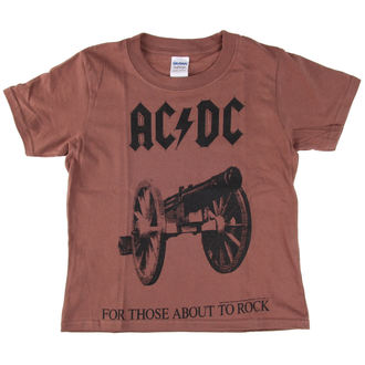 tričko detské AC/DC - For Those About To Rock - LOW FREQUENCY, LOW FREQUENCY, AC-DC