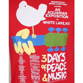 tričko pánske Woodstock- Poster- LOW FREQUENCY, LOW FREQUENCY