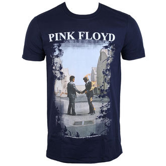 tričko pánske Pink Floyd - Burning Man Navy - LOW FREQUENCY - PFTS06011N