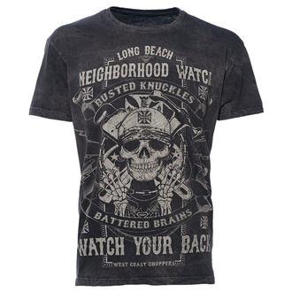 tričko pánske West Coast Choppers - WCC NEIGHBORHOOD - WATCH BLACK, West Coast Choppers