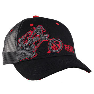 šiltovka West Coast Choppers - WCC CHOPPERDOGS ROUND BILL TRUCKER - GREY, West Coast Choppers