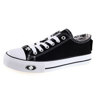 topánky West Coast Choppers - WARRIOR LOW-TOP - BLACK, West Coast Choppers