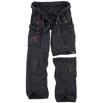 nohavice pánske SURPLUS - ROYAL OUTBACK - BLACK, SURPLUS