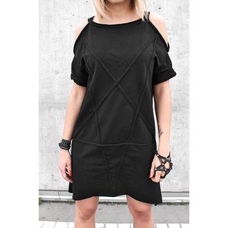 šaty dámske AMENQUEEN OF DARKNESS - Pentagram - Black - DESIRE-016