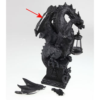 dekorácia Black Dragon Light, Nemesis now