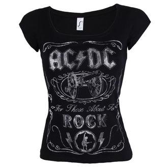 tričko dámske AC/DC - Canon Swig - ROCK OFF, ROCK OFF, AC-DC