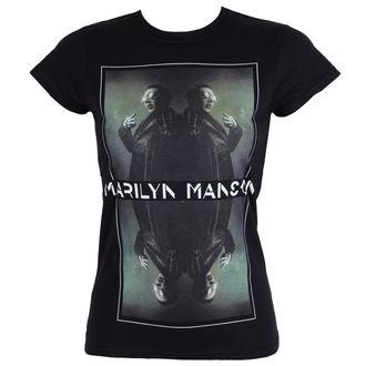 tričko dámske Marilyn Manson - Mirrored - ROCK OFF, ROCK OFF, Marilyn Manson