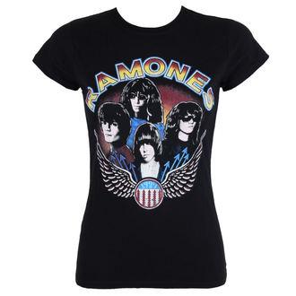 tričko dámske Ramones - Vintage Wings - ROCK OFF, ROCK OFF, Ramones