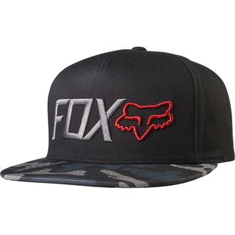 šiltovka FOX - Obsessed - Black Camo, FOX