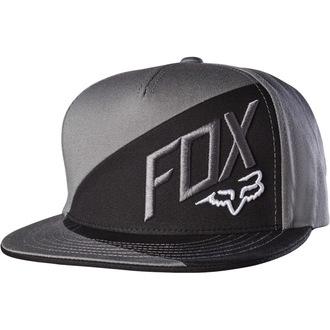 šiltovka FOX - Overlapped - Graphite, FOX