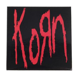 magnet Korn - Logo - ROCK OFF, ROCK OFF, Korn