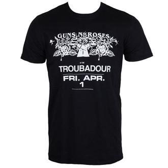 tričko pánske Guns N' Roses - Troubadour - ROCK OFF, ROCK OFF, Guns N' Roses
