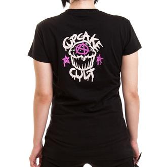 tričko dámske Cupcake Cult - LOST LOVE - Black, CUPCAKE CULT