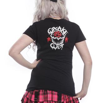 tričko dámske Cupcake cult - TRIGGER Black, CUPCAKE CULT
