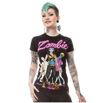 tričko dámske Cupcake cult - ZARBIE - Black, CUPCAKE CULT