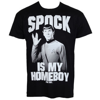 tričko pánske Star Trek - Spock Is My Homeboy - Black - HYBRIS, HYBRIS