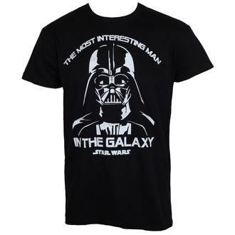tričko pánske Star Wars - The Most Interesting Man In The Galaxy - Black - HYBRIS, HYBRIS, Star Wars