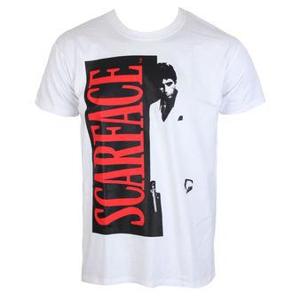 tričko pánske Scarface - White - HYBRIS, HYBRIS