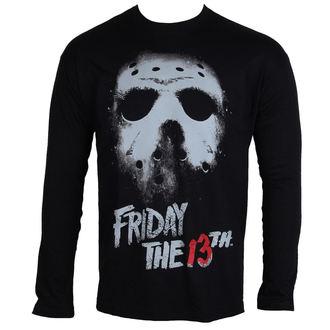 tričko pánske s dlhým rukávom Friday The 13th - Black - HYBRIS, HYBRIS
