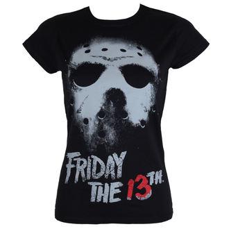 tričko dámske Friday The 13th - Black - HYBRIS, HYBRIS, Friday 13th