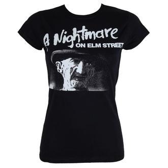 tričko dámske Noční můra z Elm Street - Black - HYBRIS, HYBRIS, Noční můra z Elm Street