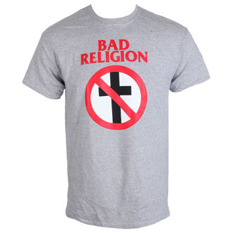tričko pánske Bad Religion - Crossbuster Heather Gray - KINGS ROAD, KINGS ROAD, Bad Religion