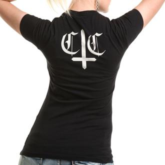 tričko dámske CUPCAKE CULT - WEDNESDAY - BLACK, CUPCAKE CULT