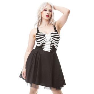 šaty dámske VIXXSIN - GHOST TOWN - BLACK - POI328