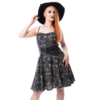 šaty dámske CUPCAKE CULT - MOON FOX - BLACK, CUPCAKE CULT