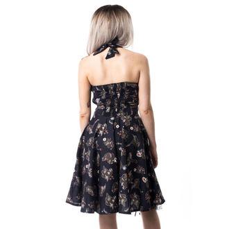 šaty dámske CUPCAKE CULT - VOODOO DRAGON - BLACK, CUPCAKE CULT