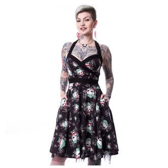 šaty dámske SUICIDE SQUAD - JOKER HAHA - BLACK