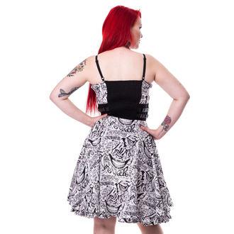 šaty dámske SUICIDE SQUAD - JOKER TATTOO - WHITE