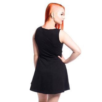 šaty dámske CUPCAKE CULT - KITTY - BLACK, CUPCAKE CULT