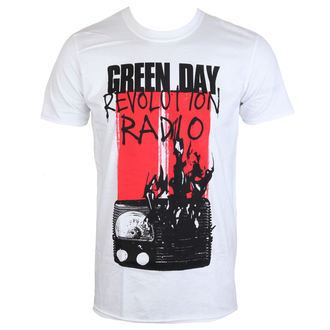tričko pánske GREEN DAY - RADIO COMBUSTION - PLASTIC HEAD, PLASTIC HEAD, Green Day