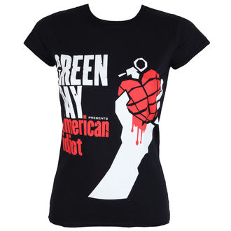 tričko dámske GREEN DAY - AMERICAN IDIOT - PLASTIC HEAD, PLASTIC HEAD, Green Day