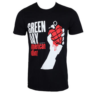 tričko pánske GREEN DAY - AMERICAN IDIOT - PLASTIC HEAD, PLASTIC HEAD, Green Day