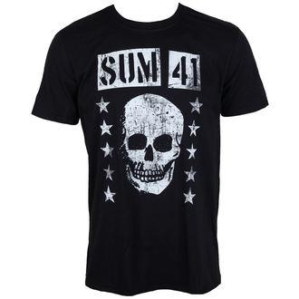 tričko pánske SUM 41 - GRINNING SKULL - PLASTIC HEAD, PLASTIC HEAD, Sum 41