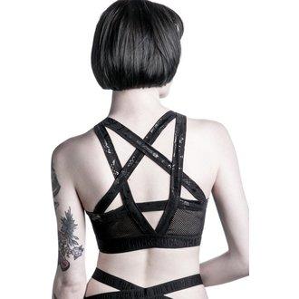 športové podprsenka dámska KILLSTAR - Curse Tina - Black, KILLSTAR