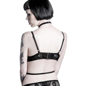 podprsenka KILLSTAR - Bella Morte Parisian - Black, KILLSTAR
