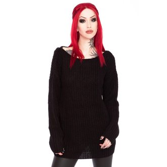 sveter dámsky KILLSTAR - Sinthya Knit - Black, KILLSTAR